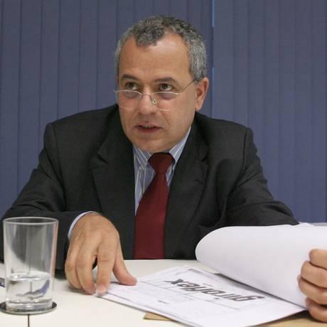Luiz Fernando Emediato, em 2008 Foto: Aílton de Freitas / 17-4-08