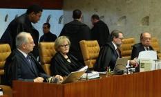 STF retoma julgamento sobre delações da JBS Foto: Jorge William / Agência O Globo