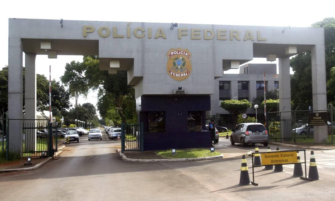 Sede da Polícia Federal, em Brasília Foto: Jorge William/Agência O Globo