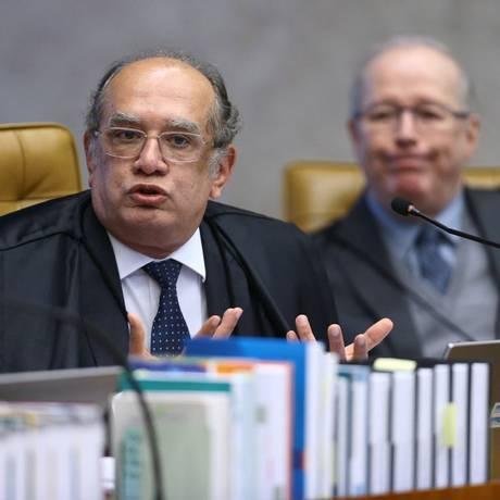 O ministro Gilmar Mendes Foto: Jorge William / Agência O Globo