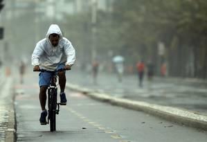 Leblon é o bairro com maior número de furtos de bicicletas na cidade do Rio Foto: Gabriel de Paiva / Agência O Globo 13-11-2016
