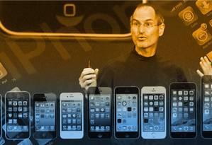 Em uma década, o iPhone e a infinidade de smartphones que o seguiram mudaram a forma como vivemos Foto: O GLOBO