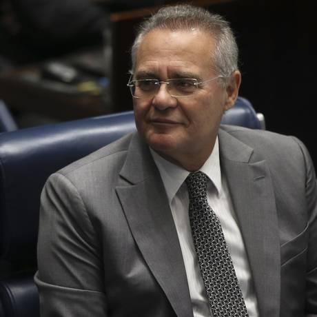 O senador Renan Calheiros (PMDB-AL) Foto: Ailton Freitas / Agência O Globo
