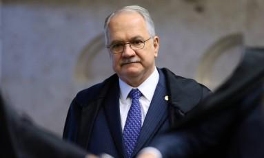 Fachin envia à Câmara denúncia contra Temer Foto: Jorge William/Agência O Globo