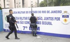 A ação foi batizada de Calabar — em alusão a Domingos Fernandes Calabar, considerado o maior traidor da História brasileira Foto: Pedro Teixeira / Agência O Globo