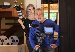 Jeanne Duarte e Mario de Aratanha estão à frente do projeto Foto: Divulgação