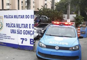 Operação Calabar decretou prisão de 97 PMs que atuaram em São Gonçalo entre 2014 e 2016 Foto: Pedro Teixeira / Agência O Globo