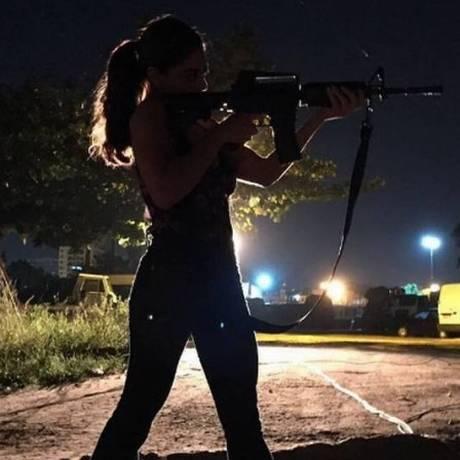 Juliana Paes como Bibi Perigosa Foto: Reprodução