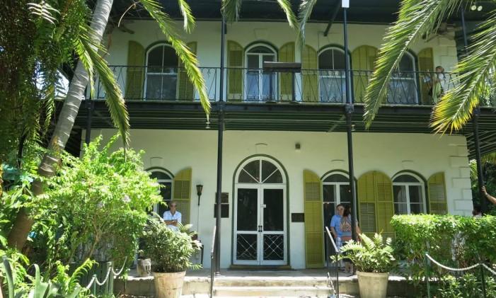 Casa de Hemingway em Florida Keys Foto: Carolina Mazzi / O Globo