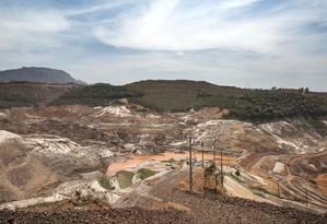 Após ruptura de barragem, Samarco busca superar danos ambientais Foto: Ana Branco/29-10-2016