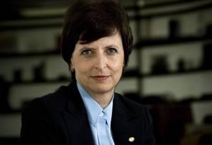 A ex-banqueira Kátia Rabello Foto: Jefferson Dias/Valor