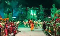 Primeira noite do 52º Festival Folclórico de Parintins, no Amazonas Foto: Bruno Calixto