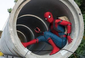 Cena de 'Homem-Aranha: de volta ao lar' Foto: Chuck Zlotnick