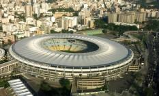 Vista aérea do novo Maracanã Foto: Genilson Araújo / Genilson Araújo