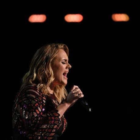 Adele cancelou dois shows em Wembley Foto: VALERIE MACON / AFP