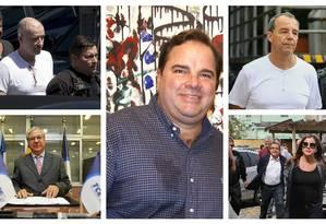 Álvaro Novis ligado a várias operações da Lava-Jato Foto: Montagem/O GLOBO
