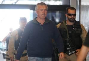 Marcelo Traça, Presidente da SETRERJ, é preso na Operação Ponto Final Foto: Fabiano Rocha / Agência O Globo