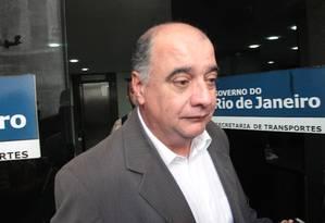 O ex-presidente do Detro Rogério Onofre Foto: Gabriel de Paiva/ Agência O Globo 31/08/2011