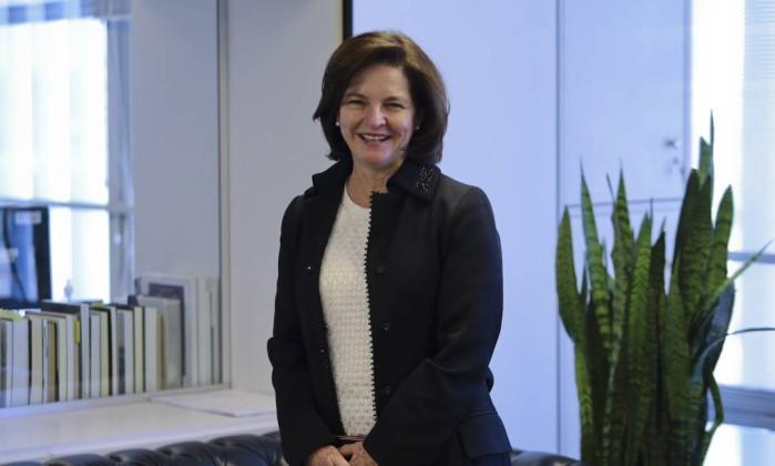 A subprocuradora Raquel Dodge indicada pelo presidente Michel Temer para assumir o comando da PGR- Jorge William  Agência O Globo