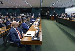 Comissão de Constituição e Justiça (CCJ) será a primeira a votar denúncia contra Temer na Câmara Foto: Divulgação