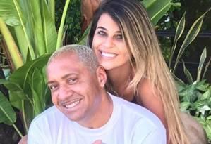 Nana Magalhães posa com o marido, Tiririca Foto: Reprodução/Instagram