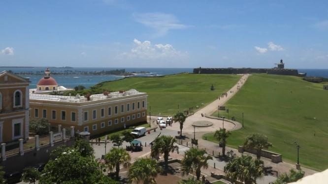 O forte San Felipe del Morro, um dos destaques de San Juan, em Porto Rico Foto: Danica Coto / AP