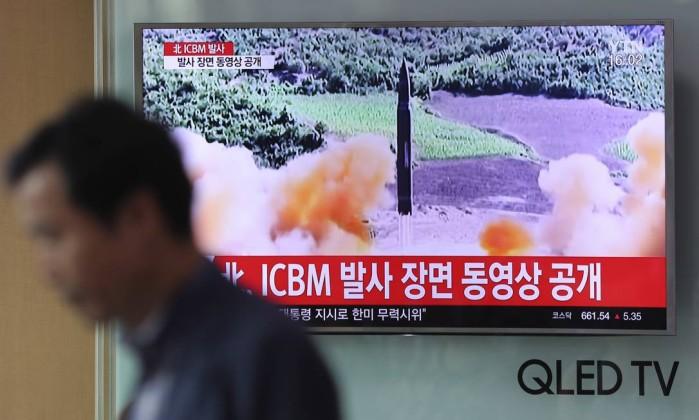 Coreia do Norte: míssil pode alcançar qualquer lugar do planeta