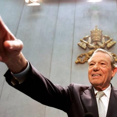 Navarro tornou-se famoso ao explicar com linguagem simples os ensinamentos da Igreja Foto: Max Rossi/Reuters