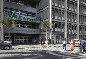 A fachada da Universidade do Estado do Rio de Janeiro (Uerj) Foto: Leo Martins - 29/03/2017 / Agência O Globo