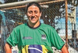 Marina Moraes foi convocada após a contusão de outra atleta Foto: Analice Paron / Agência O Globo