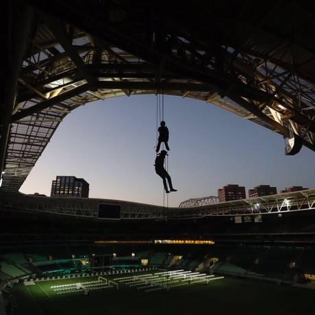 Rapel no Allianz Parque, estádio do Palmeiras Foto: Divulgação