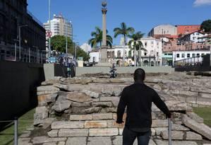 Cais do Valongo ganha título de Patrimônio Mundial da Unesco Foto: Custódio Coimbra / Agência O Globo