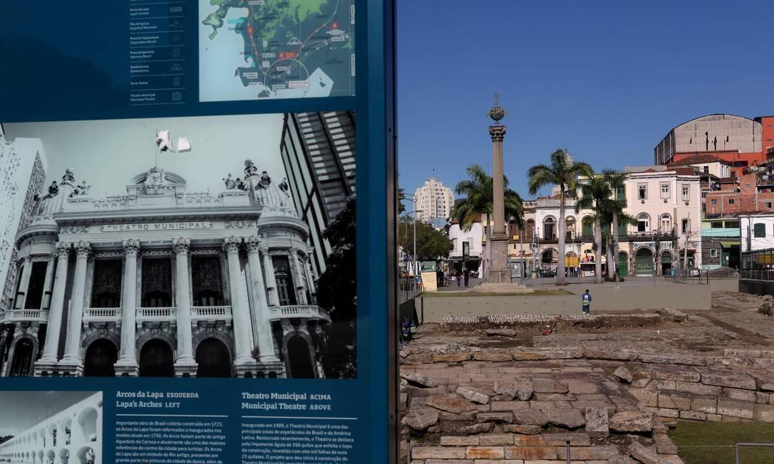 O reconhecimento chega cinco anos após o Rio ter sido eleito Patrimônio da Humanidade Foto: Custódio Coimbra / Agência O Globo
