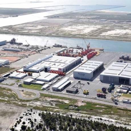 Gás. No Porto do Açu, em São João da Barra, será criado um polo de térmicas