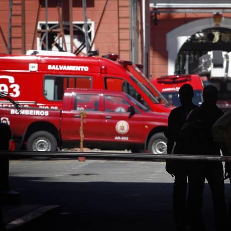 Bombeiro no Quartel Central Foto: Luiz Ackermann / O Globo