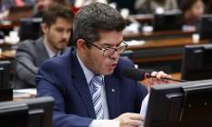 O deputado Delegado Waldir (PSL-GO), líder do PSL na Câmara Foto: Divulgação/Câmara dos Deputados