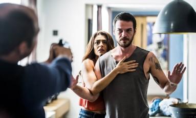 Rubinho (Emílio Dantas) é preso Foto: Divulgação/TV Globo/João Miguel Júnior