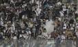Correria na arquibancada de São Januário: episódios de violência mancharam o clássico Vasco x Flamengo