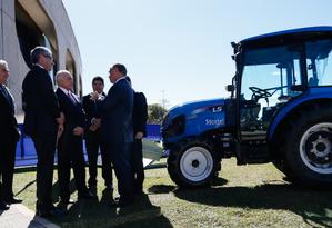 O presidente Michel Temer participa da divulgação do Plano Safra 2017/2018 Foto: Divulgação