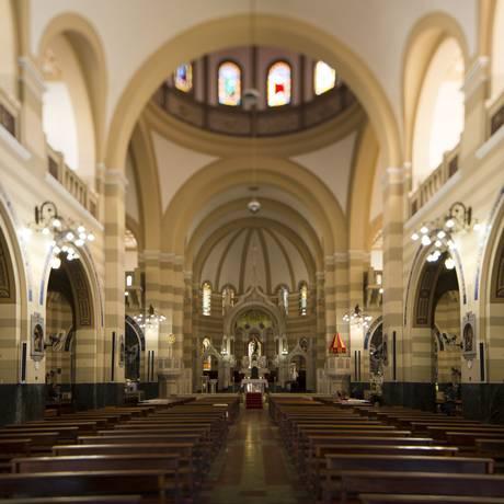 Interior da Igreja dos Capuchinhos Foto: Leo Martins / Agência O Globo