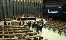 O plenário da Câmara dos Deputados Foto: Jorge William / Agência O Globo / 29-6-17