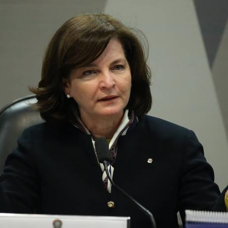 Comissão de Constituição e Justiça do Senado sabatina Raquel Dodge Foto: Ailton de Freitas / O Globo