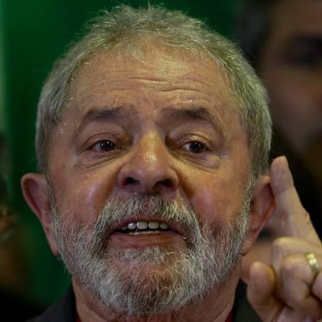 O ex-presidente Luiz Inácio Lula da Silva Foto: Pedro Kirilos / Agência O Globo / 15-9-16