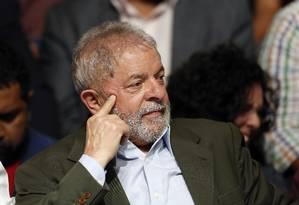 O ex-presidente Luiz Inácio Lula da Silva Foto: Edilson Dantas / Agência O Globo / 27-9-16