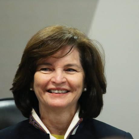 A subprocuradora Raquel Dodge durante sabatina na CCJ do Senado Foto: Ailton de Freitas / Agência O Globo / 12-7-17