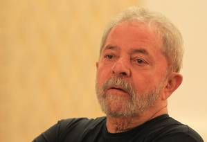O ex-presidente Luiz Inácio Lula da Silva Foto: Marcos Alves / Agência O Globo / 21-9-16