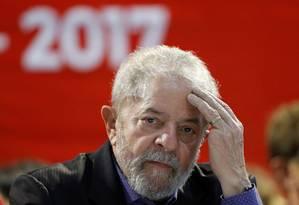 O ex-presidente Luiz Inácio Lula da Silva Foto: Leonardo Benassatto / Reuters