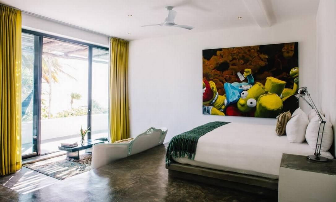 O Casa Malca tem 24 quartos, e as diárias custam em torno de R$ 1600 Casa Malca