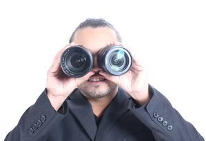 O humorista Jefferson Farias, cego desde os 11 anos, brinca com situações inusitadas vividas por ele Foto: Divulgação / Divulgação