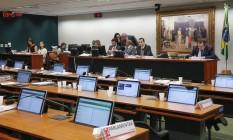 A Comissão de Constituição e Justiça (CCJ) da Câmara dos Deputados Foto: André Coelho / Agência O Globo / 13-7-17